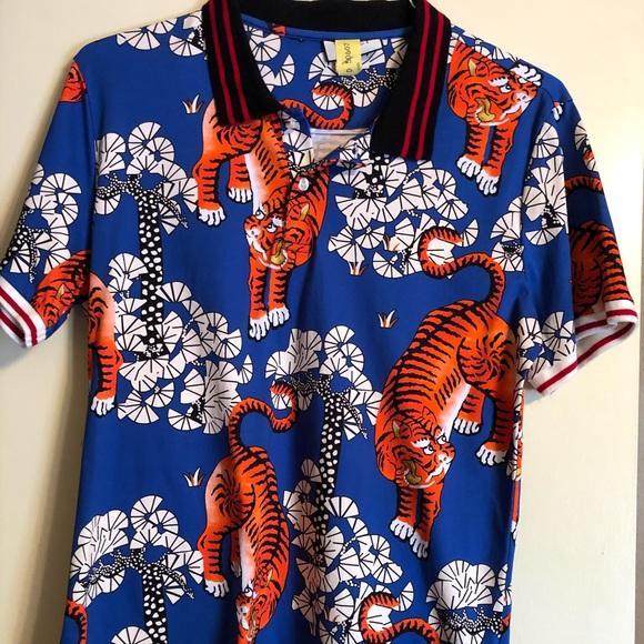 39cf4173bf93 Gucci Shirts | Bengal Tiger Polo | Poshmark